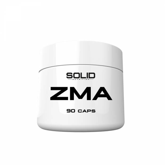 SOLID Nutrition ZMA, 90 caps
