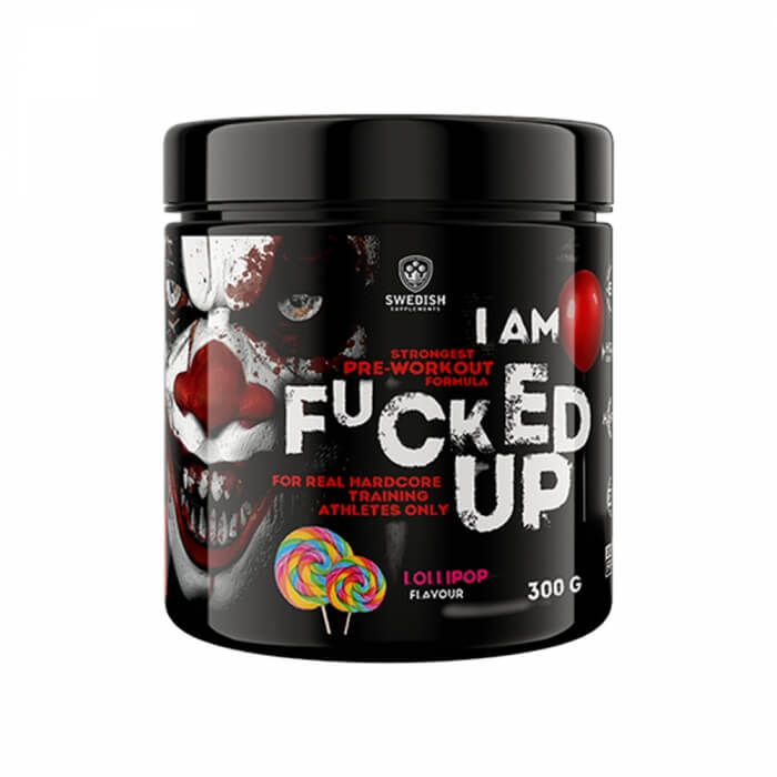 Swedish Supplements Fucked Up Joker Edition, 300 g i gruppen Kosttillskott / Prestationshöjare (PWO) / PWO (Pre-Workout) hos Tillskottsbolaget (SS032)