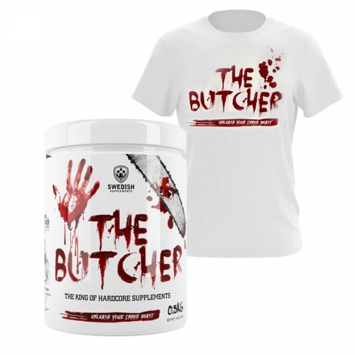 Swedish Supplements The Butcher + T-shirt PÅ KÖPET!