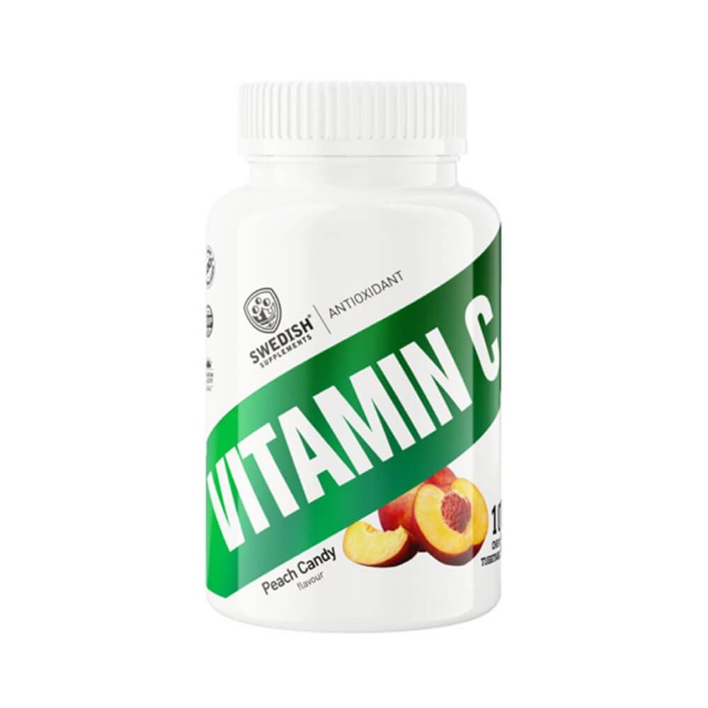 Swedish Supplements Vitamin C, 100 tabs