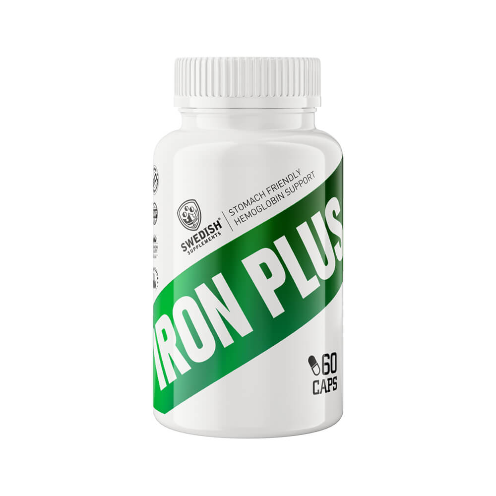 Swedish Supplements Iron Plus, 60 tabs