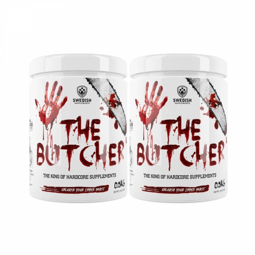 2 x Swedish Supplements The Butcher, 500 g