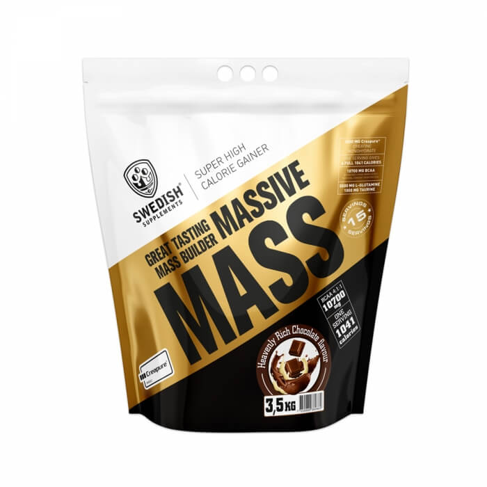 Swedish Supplements Massive Mass, 3,5 kg i gruppen Kosttillskott / Gainers hos Tillskottsbolaget (SSMASSIVE001)
