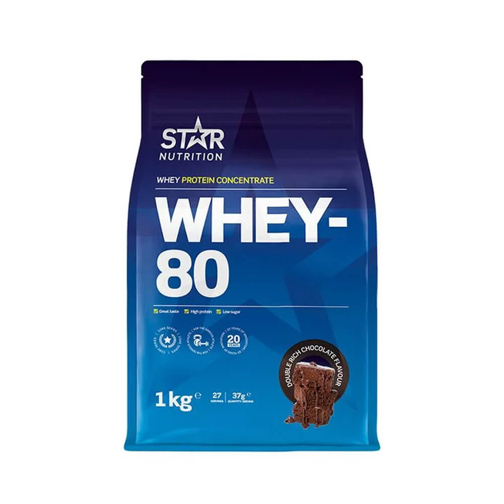 Star Nutrition Whey-80, 1 kg