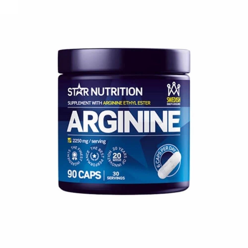 Star Nutrition Arginine, 90 caps