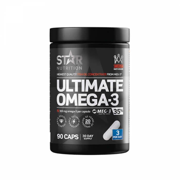 Star Nutrition Ultimate Omega-3, 90 caps, 35% 1000 mg