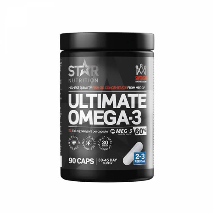 Star Nutrition Ultimate Omega-3, 90 caps, 60% 1000 mg