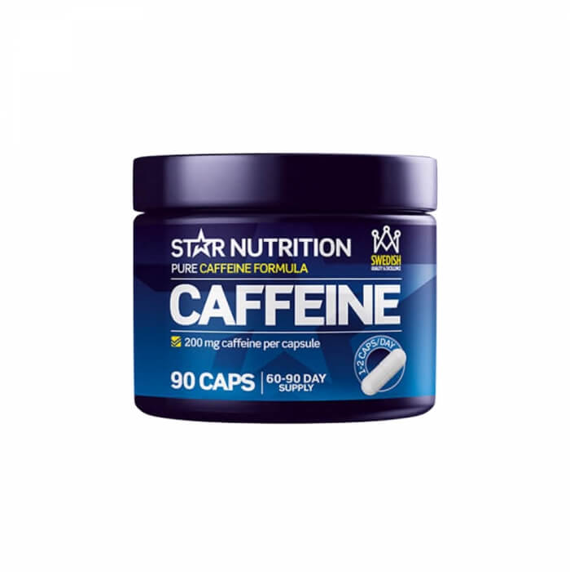 Star Nutrition Caffeine, 200 mg, 90 caps