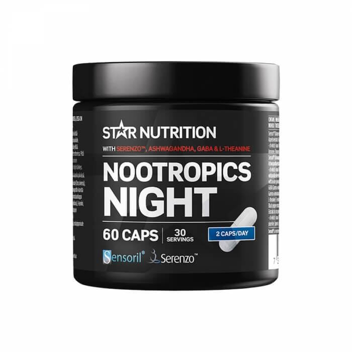 Star Nutrition Nootropics Night, 60 caps