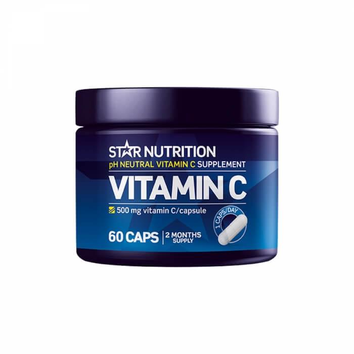 Star Nutrition Vitamin C, 60 caps