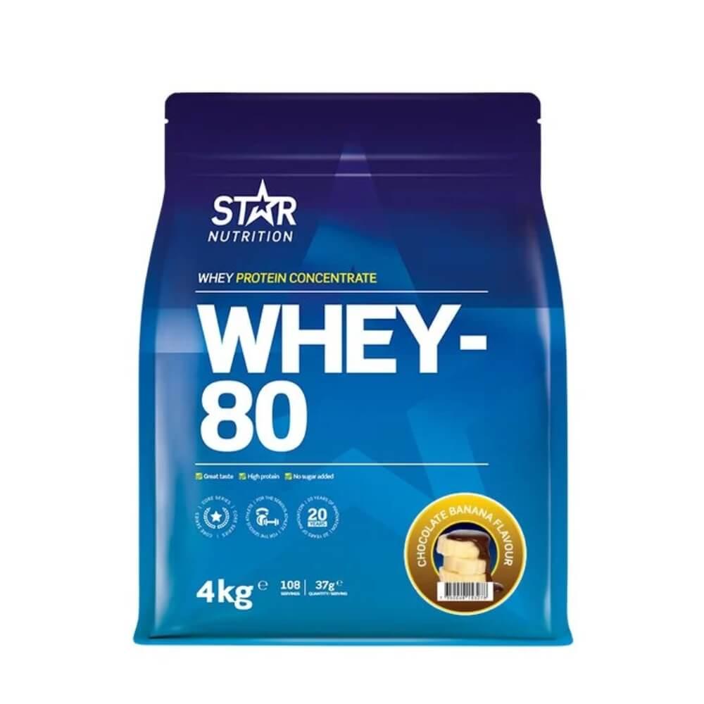 Star Nutrition Whey-80, 4 kg