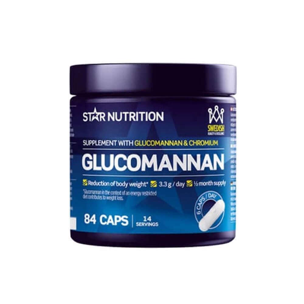 Star Nutrition Glucomannan, 84 caps