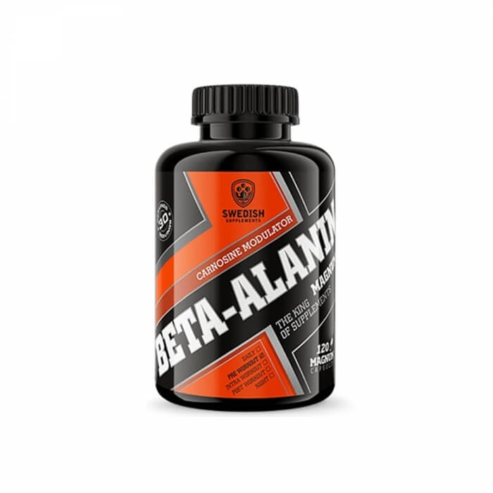 Swedish Supplements Beta-Alanine, 120 caps