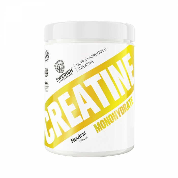 Swedish Supplements Creatine Monohydrate, 500 g