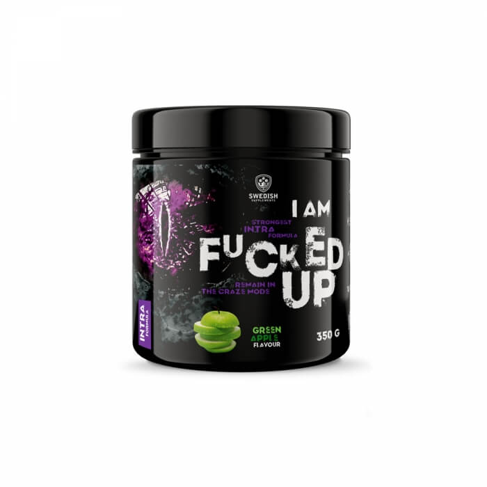 Swedish Supplements Fucked Up Intra, 350 g i gruppen Kosttillskott / Prestationshöjare (PWO) / Intra-Workout hos Tillskottsbolaget (SWEDISH092)