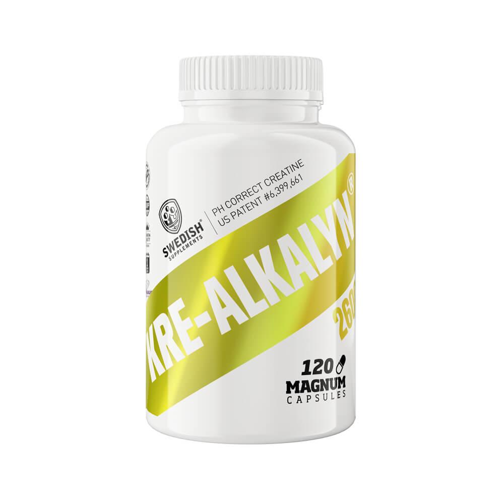 Swedish Supplements Kre-Alkalyn00, 120 caps