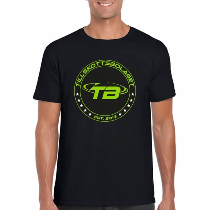 Tillskottsbolaget SHIELD T-shirt, black