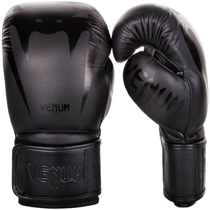 Venum Giant 3.0 Boxing Gloves - NAPPA LEATHER, black/black