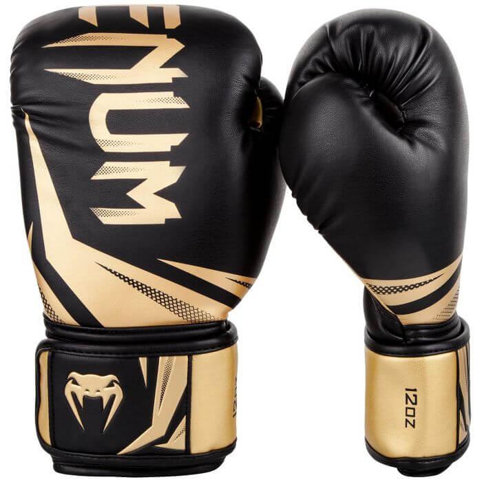 Venum Challenger 3.0 Boxing Gloves, black/gold