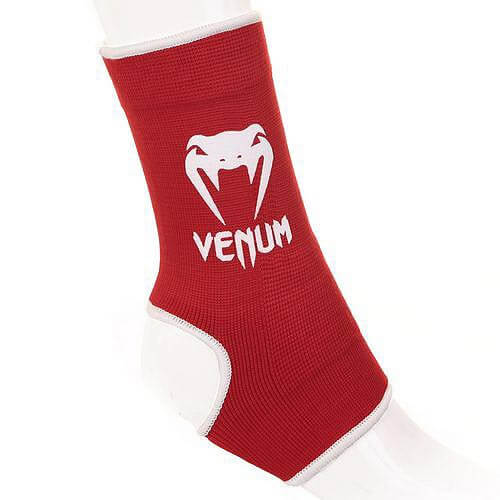 Venum Kontact Ankle Support Guard, red