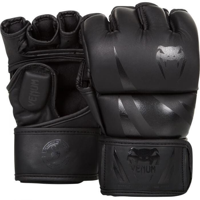 Venum Challenger MMA Gloves, matte/black