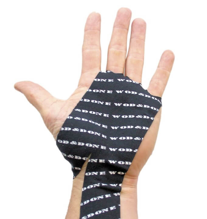 WOD & DONE Hand Protection 5-pack, black