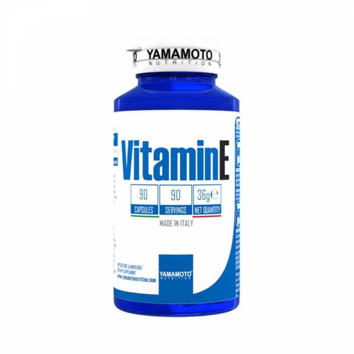Yamamoto Nutrition Vitamin E, 90 caps